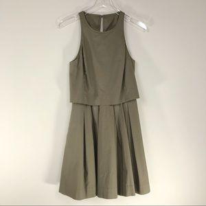 Banana Republic | Layered Khaki Dress